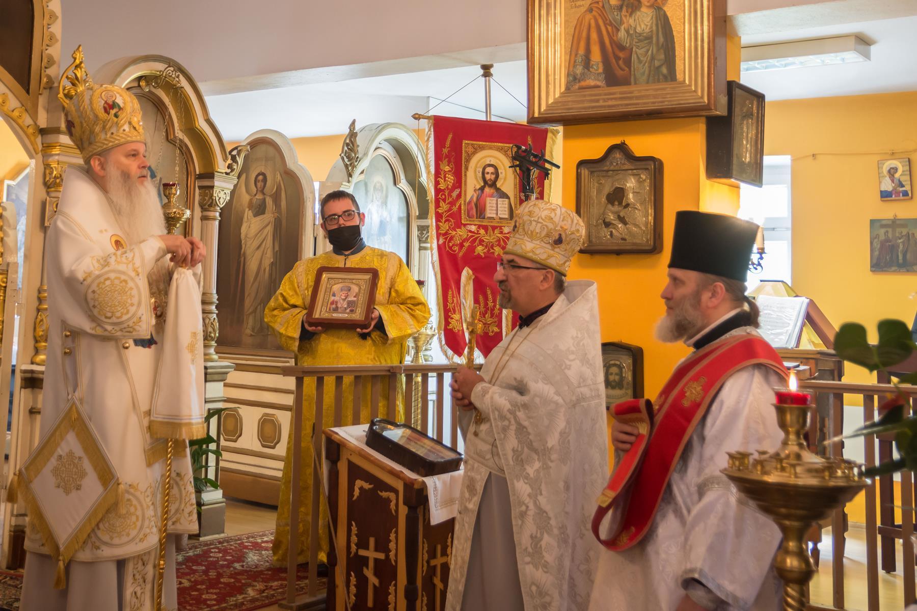 Arcypasterska wizyta w Kielcach