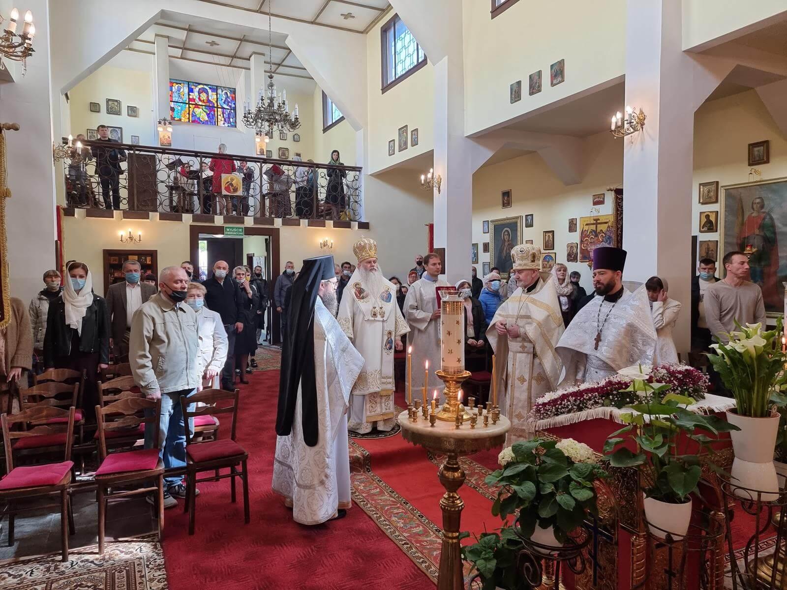 Wizyta biskupa Atanazego w Poznaniu