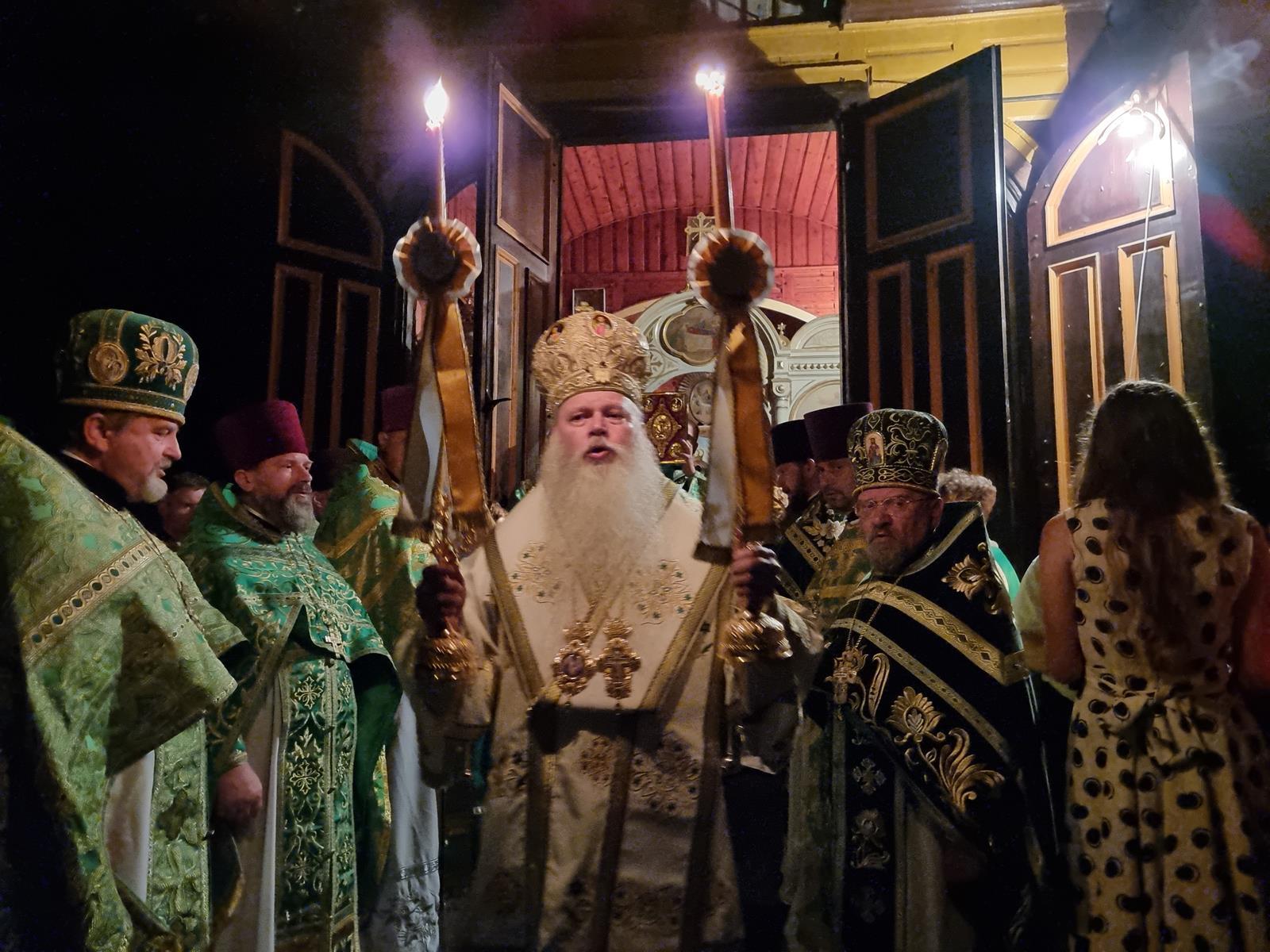 Uroczystości ku świętemu Onufremu w Jabłecznej