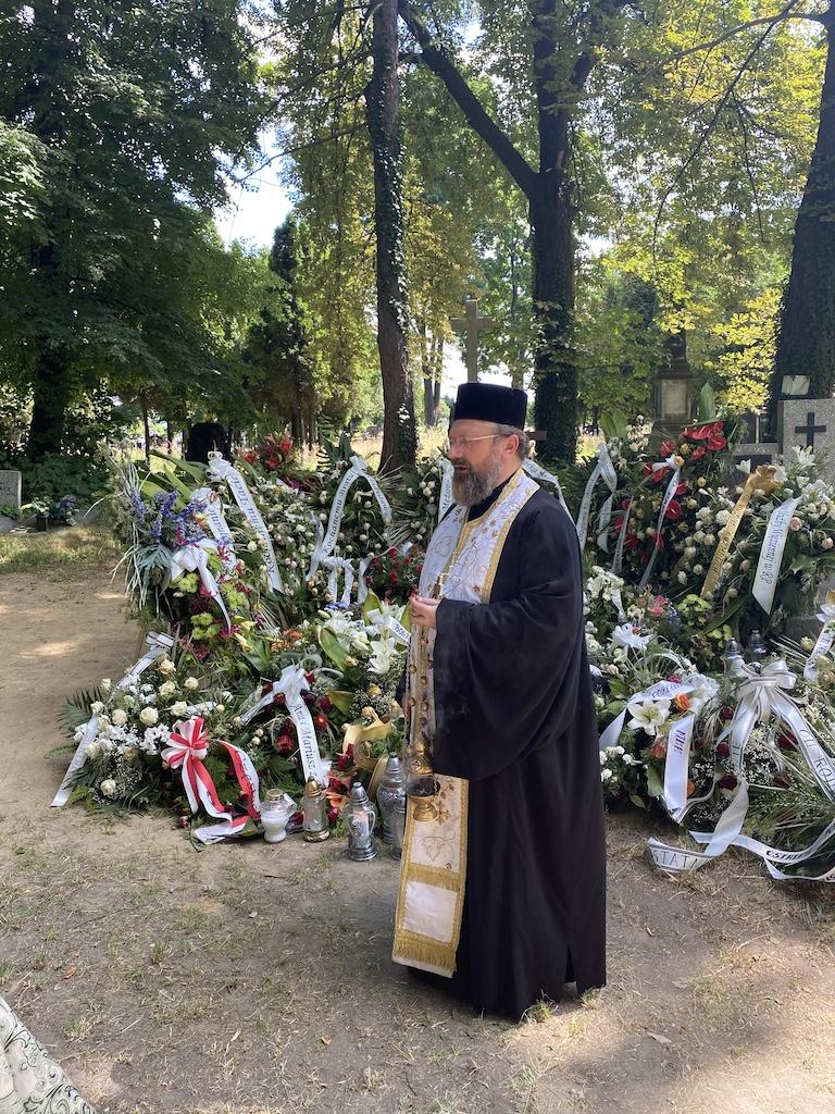Dziewiąty dzień po śmierci ks. Mitrata Mirosława Drabiuka