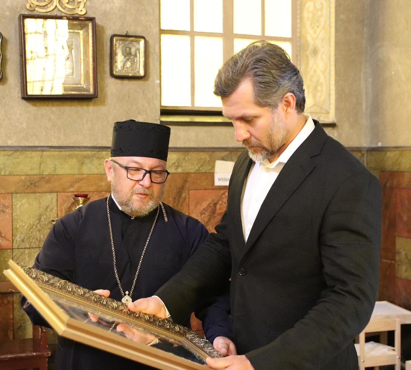 Pace konserwatorskie w cerkwi w Kaliszu