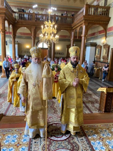 Uroczystości liturgiczne w Łodzi