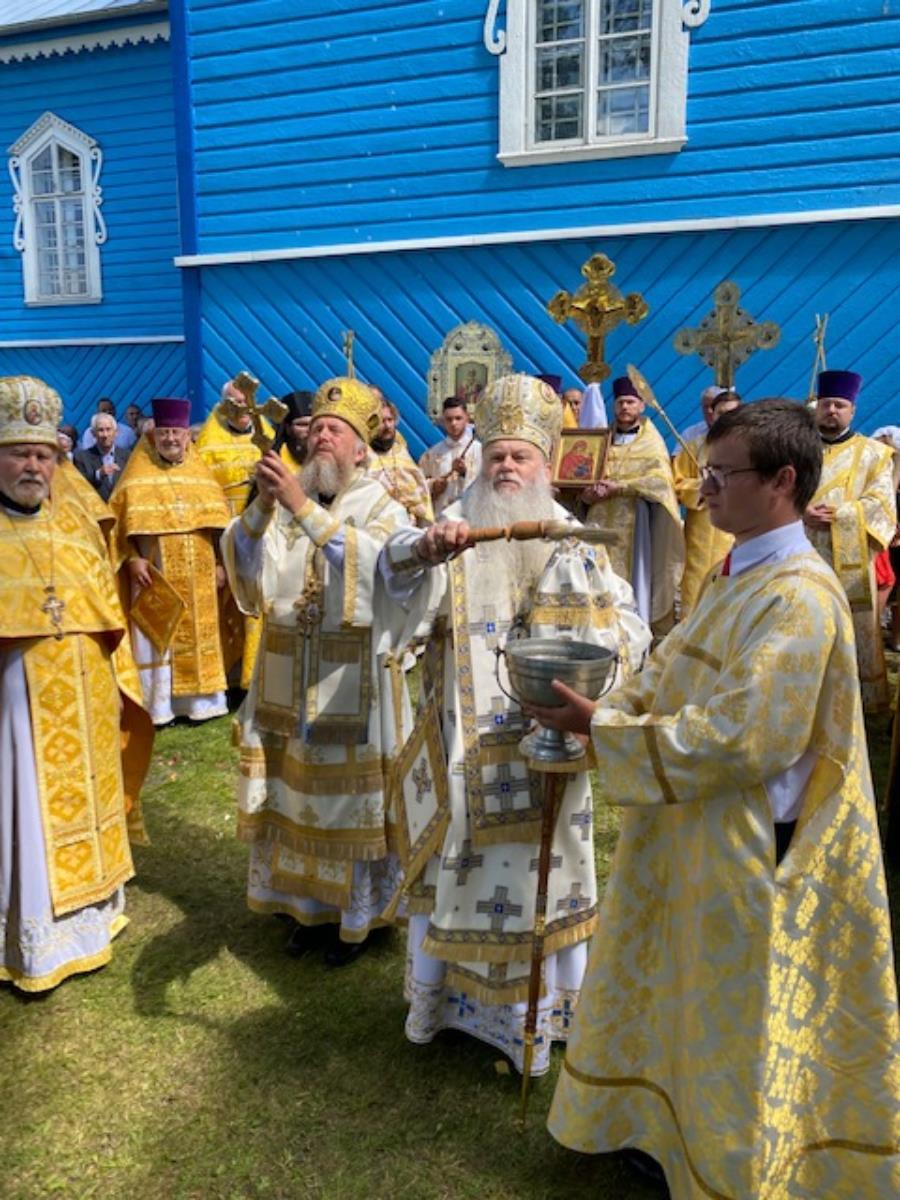 Święto parafialne w Starym Korninie
