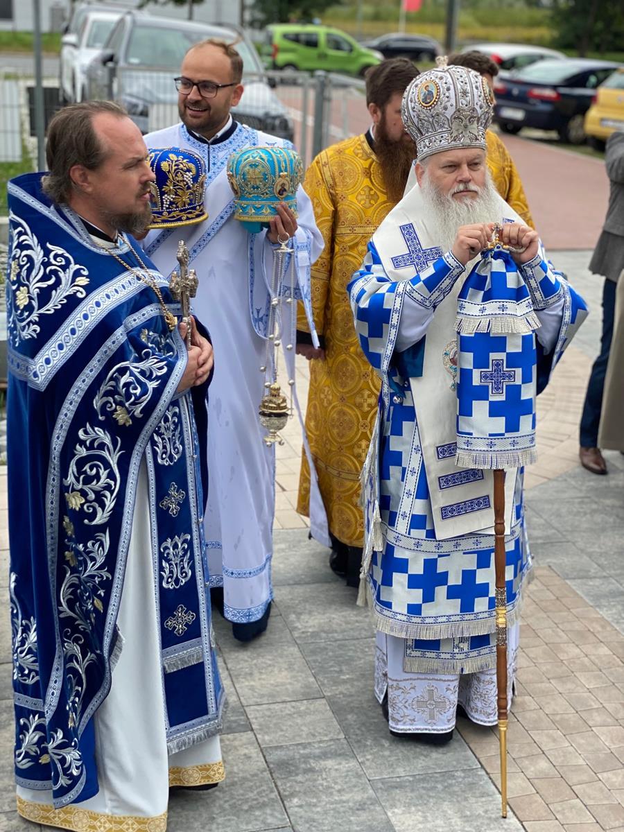 Parafialne święto w stołecznej Hagii Sophii