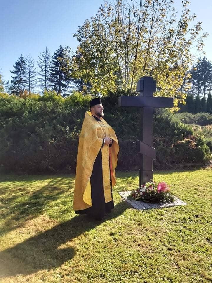 Krzyż prawosławny w Bielsku-Białej